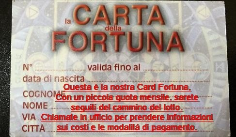 Cartomanzia Palermo Lottologia