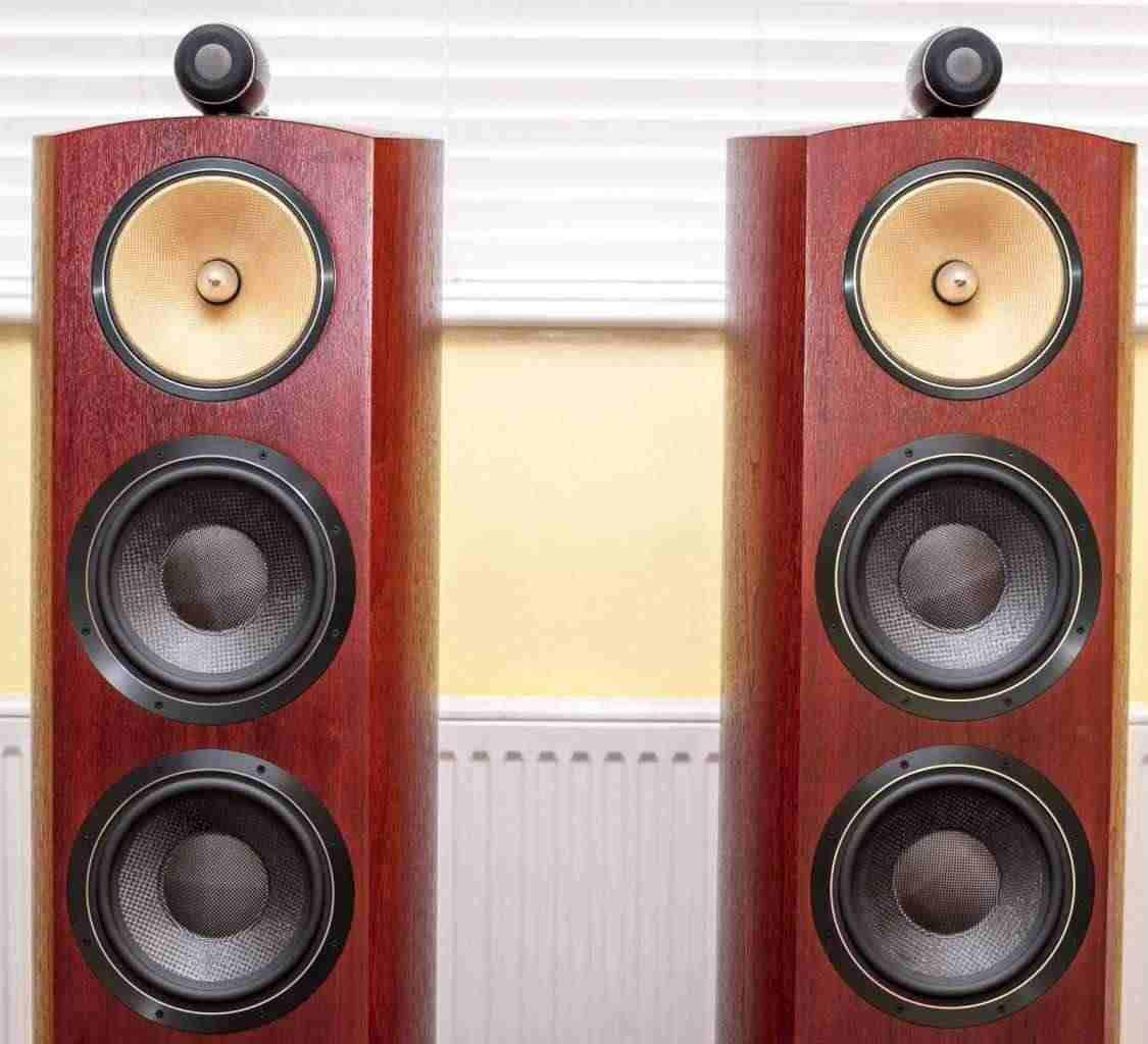 B&ampW 803D2 803 D2 Bowers Wilkins Speakers