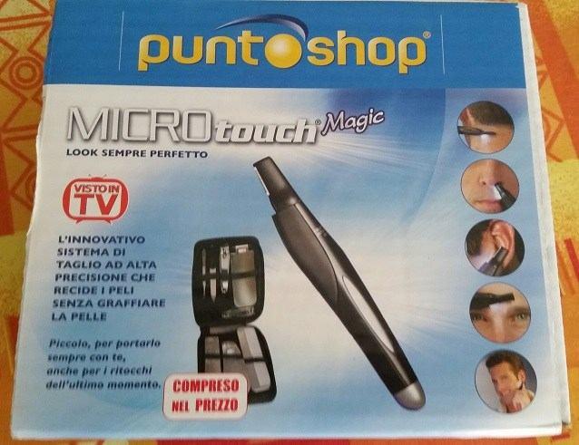Micro Touch Magic pratico per portarlo al seguito