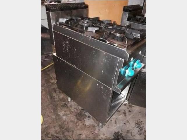 cucina gas 2 fuochi usato