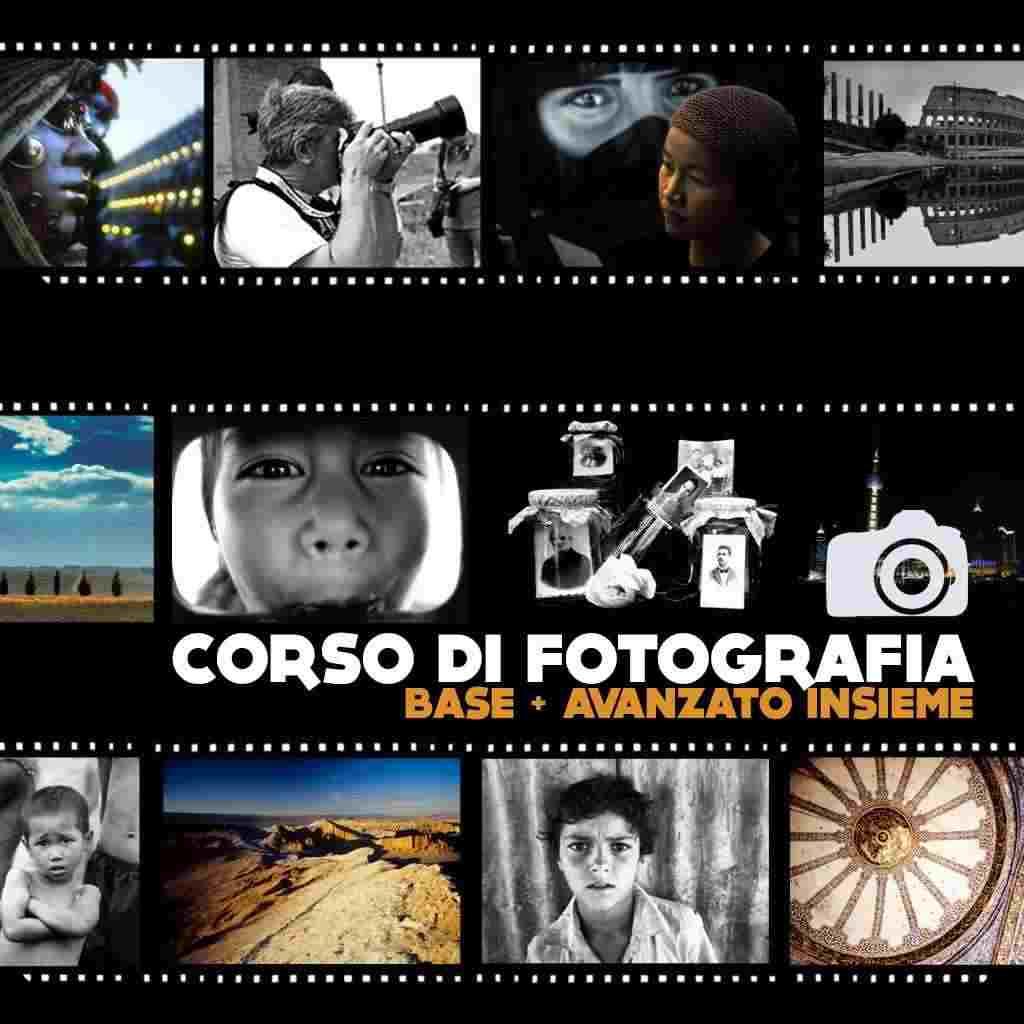 CORSO DI FOTOGRAFIA GENERALE (BASE + AVANZATO)