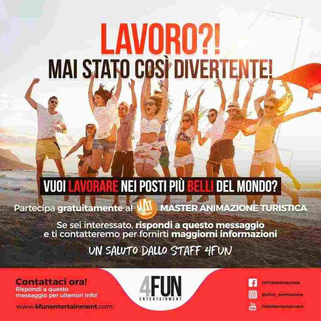 4FUN RICERCA AMIMATORI TURISTICI (ITALIA E ESTERO)
