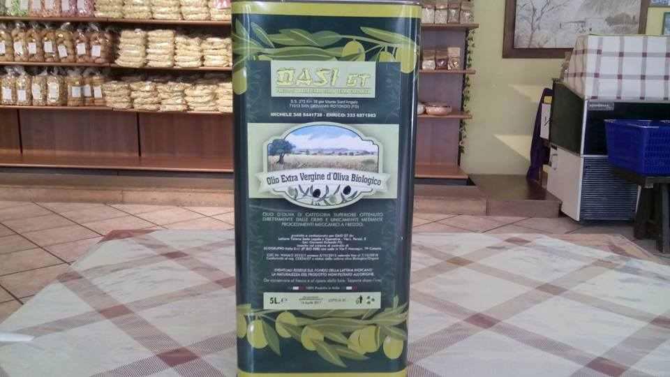 vendo olio extravergine di oliva