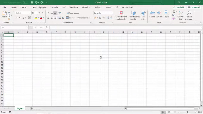 Corso di Excel Base + Avanzato in FAD (Formazione A Distanza)