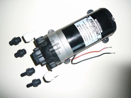 POMPA BOOSTER/AUTOCLAVE MULTIUSO 5,5 LT/MIN-12 volt DC (nautica, camper, nebulizzazione, osmosi)