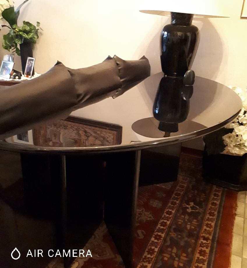 Tavolo bellissimo tavolo nero laccato