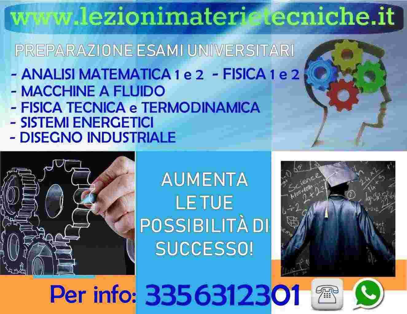 Macchine a Fluido, Fisica Tecnica, Sistemi Energetici