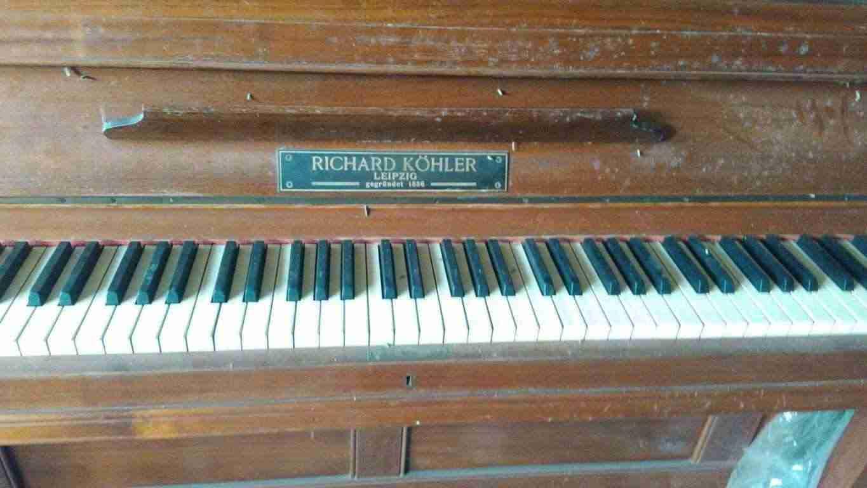 Pianoforte a muro Richard Kohler