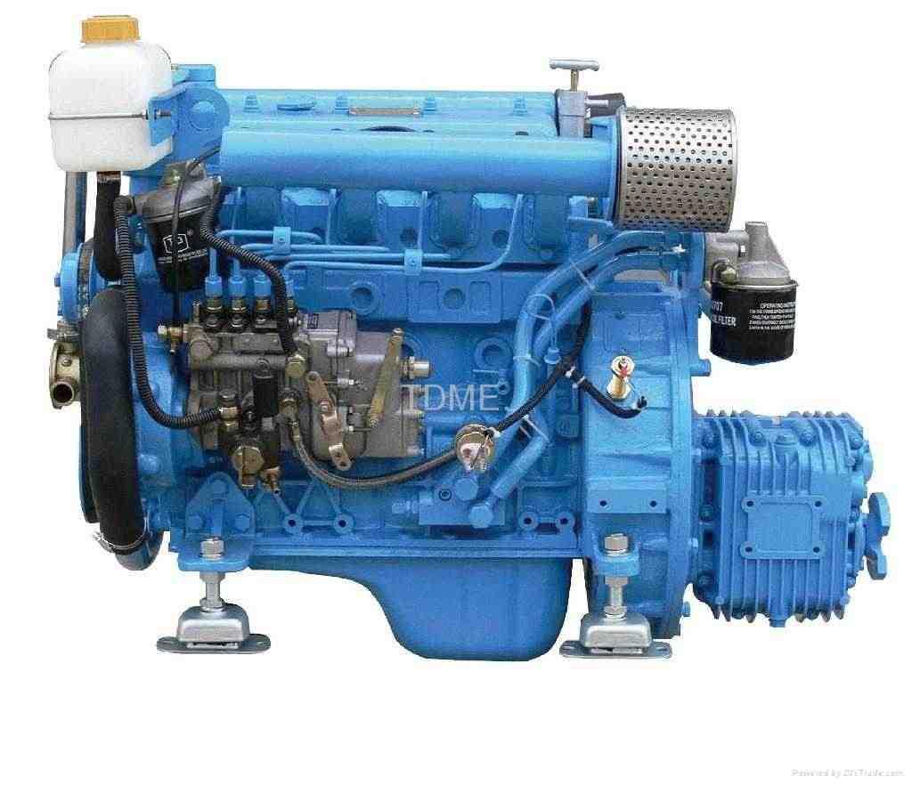 Motore per barca entrobordo diesel marino 37 hp. NUOVO