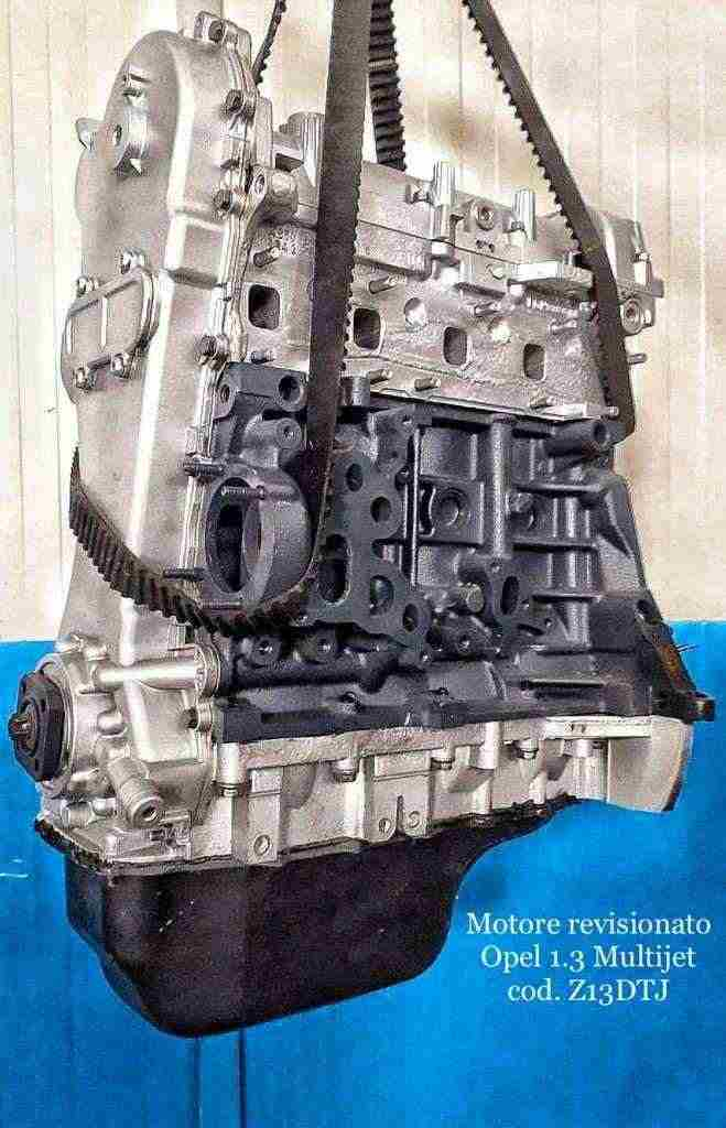 Motore Revisionato Opel 1.3 Multijet Cod Z13DTJ