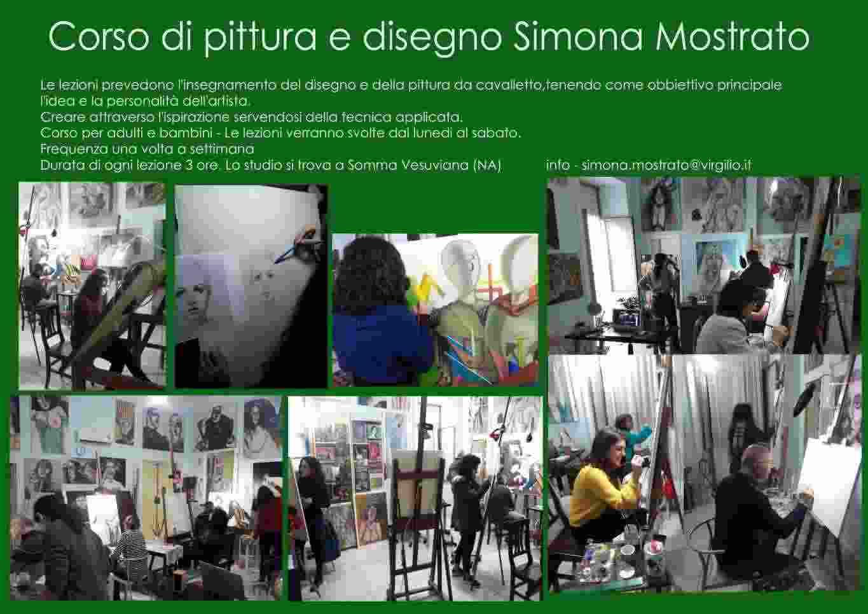 Lezioni di pittura e disegno di Simona Mostrato Arte
