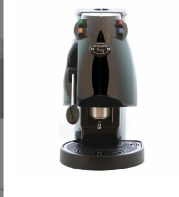 MACCHINA CAFFE A CIALDE DIDIESSE FROG NERA