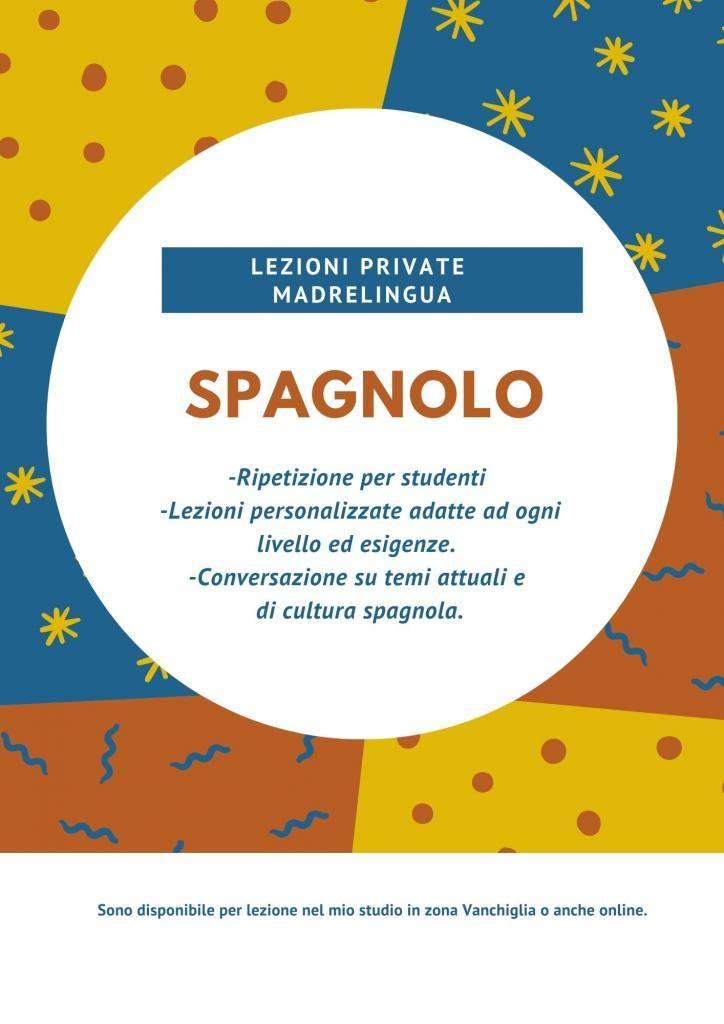 Offresi lezione private con insegnante madrelingua Spagnola