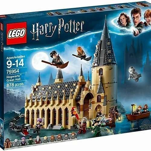 LEGO HARRY POTTER LA SALA GRANDE DI HOGWARDS 9-14 ANNI 878 PEZZI NUOVO