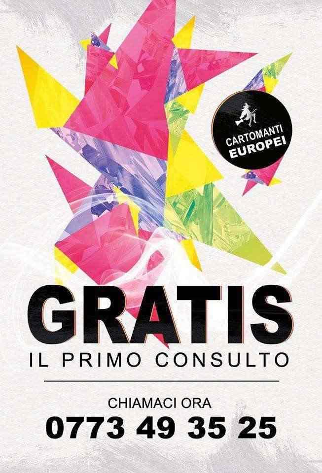 CARTOMANTI EUROPEI - Primo consulto di Cartomanzia GRATIS