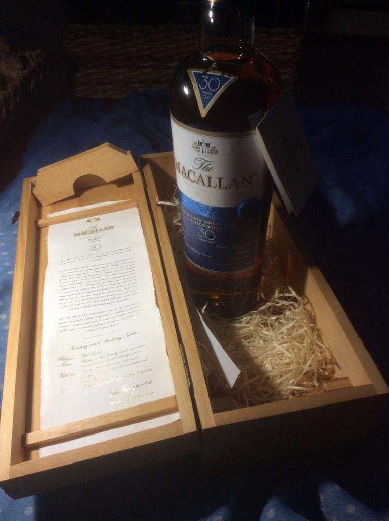 whisky Macallan 30 Anno