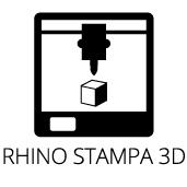 Corso Rhino Stampa 3D Certificato Firenze 600€