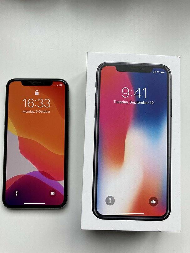 Apple iPhone X - 64GB - Grigio Siderale