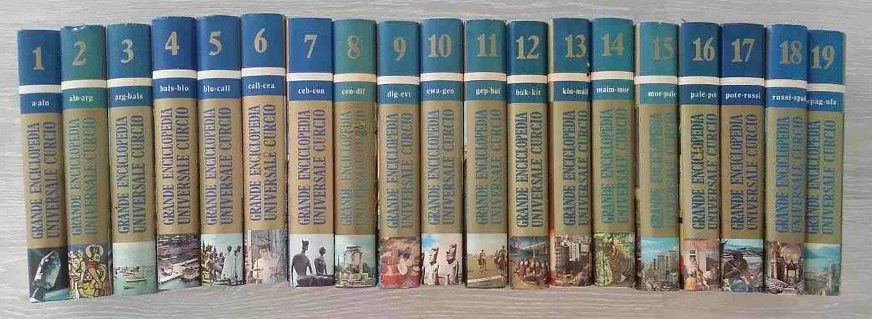 Grande enciclopedia universale Curcio 19 volumi 1977 perfetto