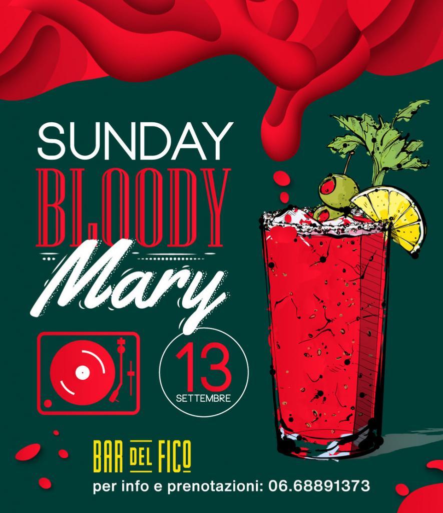 SUNDAY BLOODY MARY !!!!