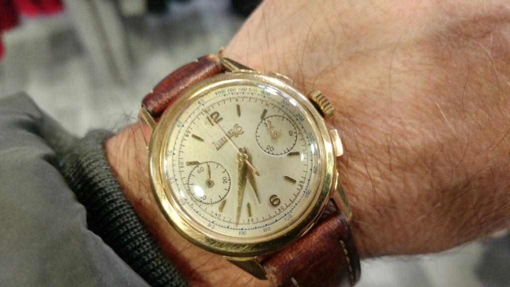 Eberhard & Co. Extra-Fort cronografo da polso