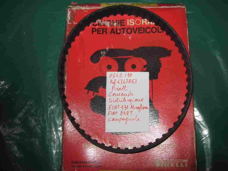 Cinghia distribuzione fiat 131 242T E CAMPAGNOLA D'EPOCA