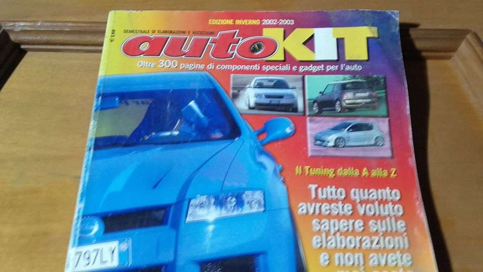 AUTOKIT rivista automobilistica anno 2002/2003