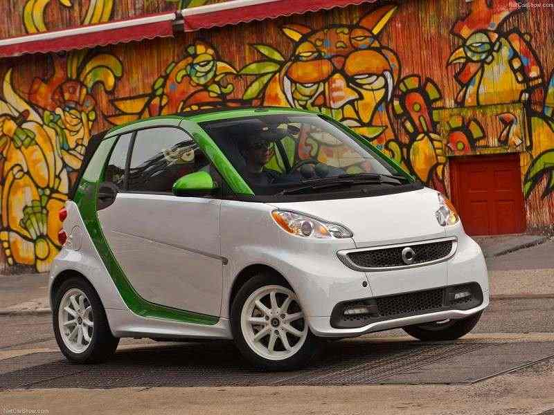 Smart Fortwo coupe ED 2009