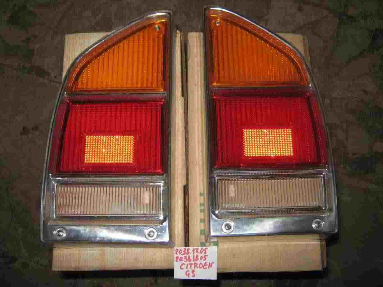Trasparenti posteriori Citroen GS d'epoca
