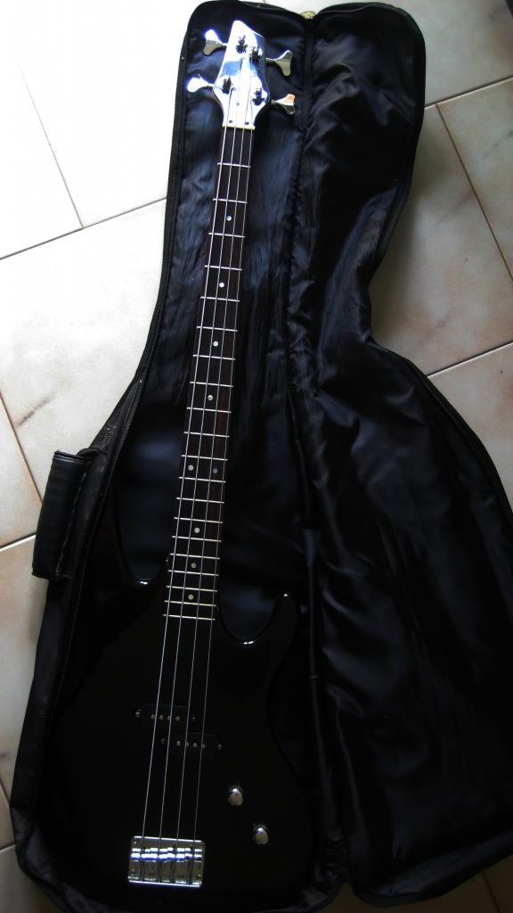vendo chitarra basso + cassa amplificatore