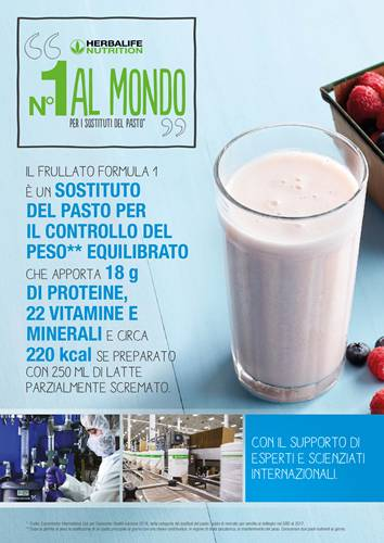 TORNA IN FORMA CON HERBALIFE!