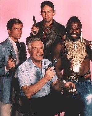 A-Team serie tv completa anni 80