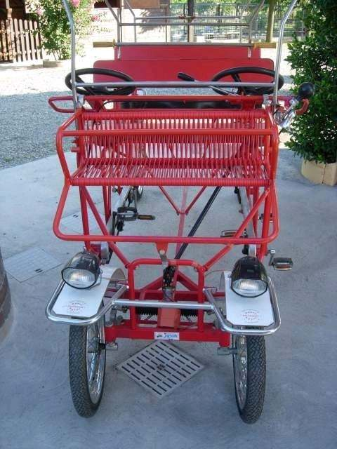 Quadriciclo a pedali JOPARK (Risciò)