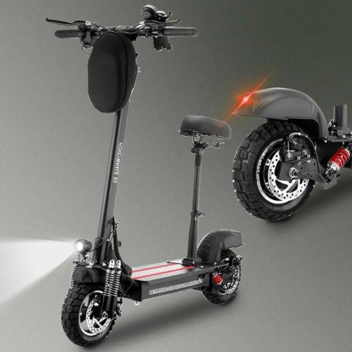 Scooter elettrico fuoristrada pieghevole per adulti 10 &quotcon sedile 13AH 45KM/ H