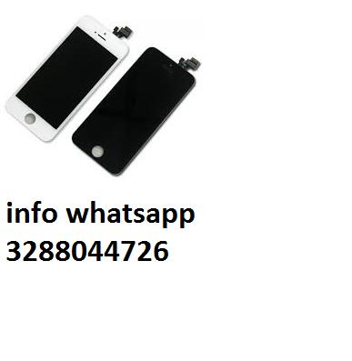 Vetro + lcd+ touch screen iphone 4, 4g, 4s, 5 5s 6 7 tutti i colori