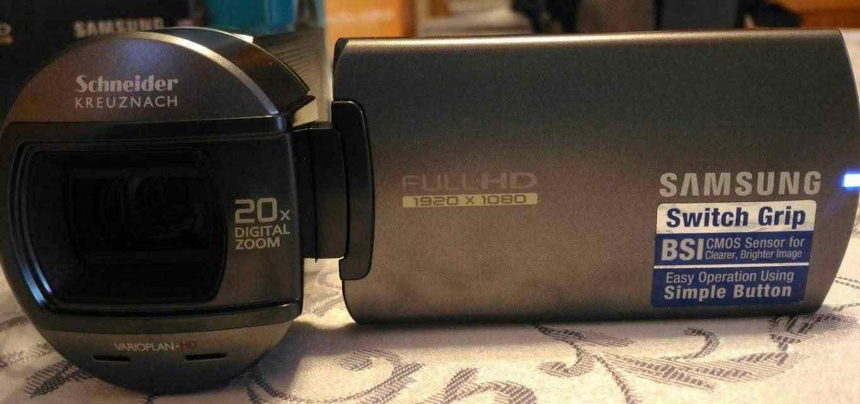 Videocamera Samsung HMX-Q10TPEDC 5.1 Mpixel FullHD