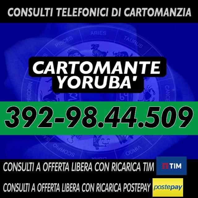 ★CARTOMANTE YORUBA'★★CONSULTI A OFFERTA LIBERA★