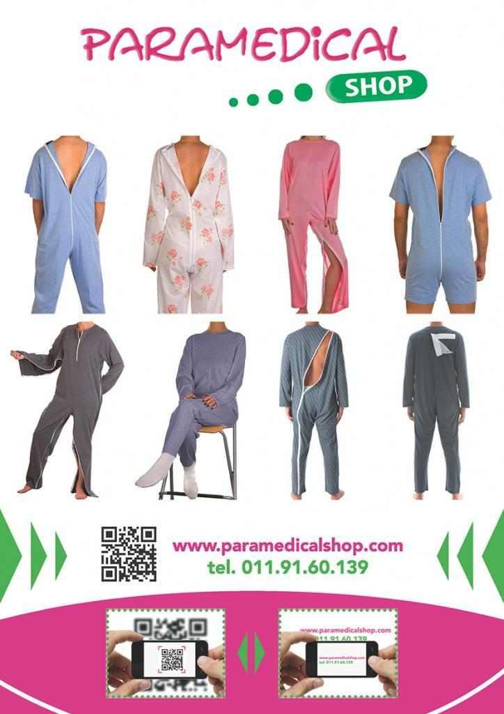 Tuta/pigiama per Anziani su Paramedicalshop
