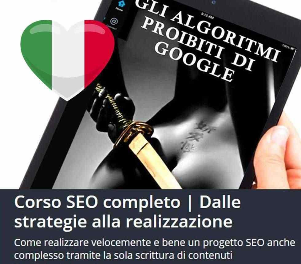 Il tuo sito in prima pagina - Corso SEO completo ONLINE