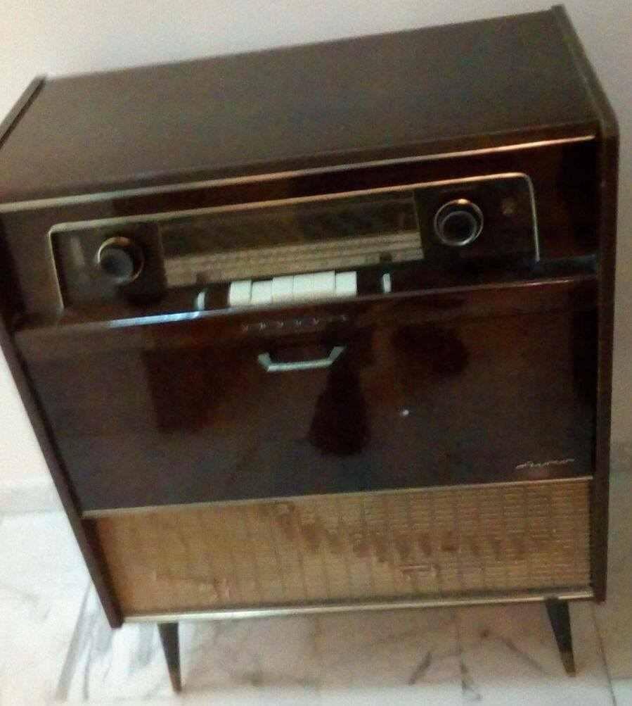 Radio Giradischi Vintage Grundig
