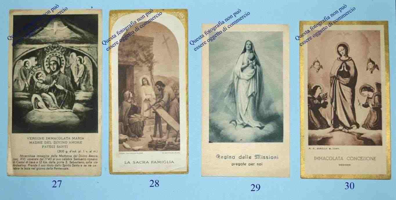 Lotto di 12 Santini di vari Santi e Beati risalenti al secolo scorso