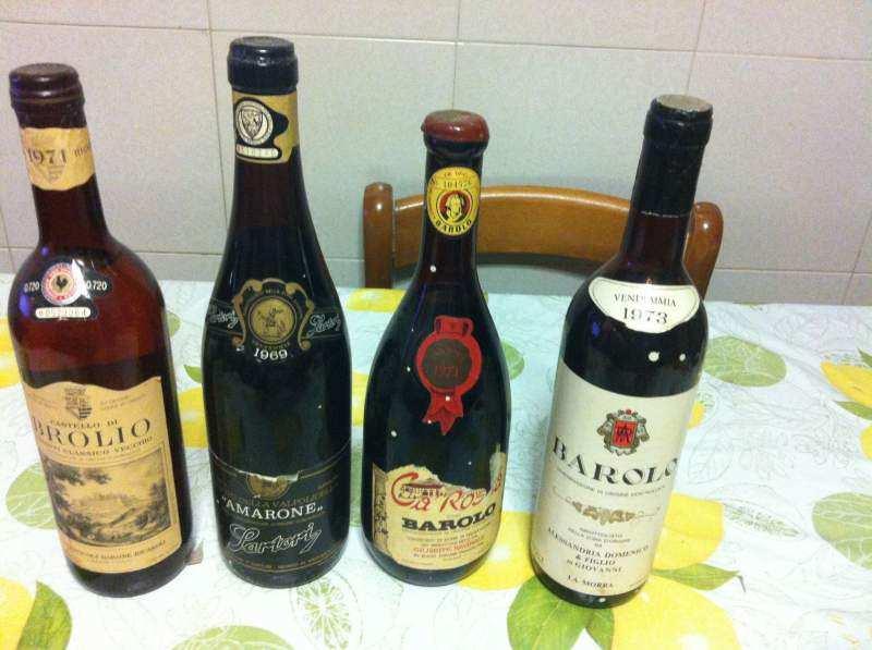 Vendesi Bottigliedi vino anni ྂ