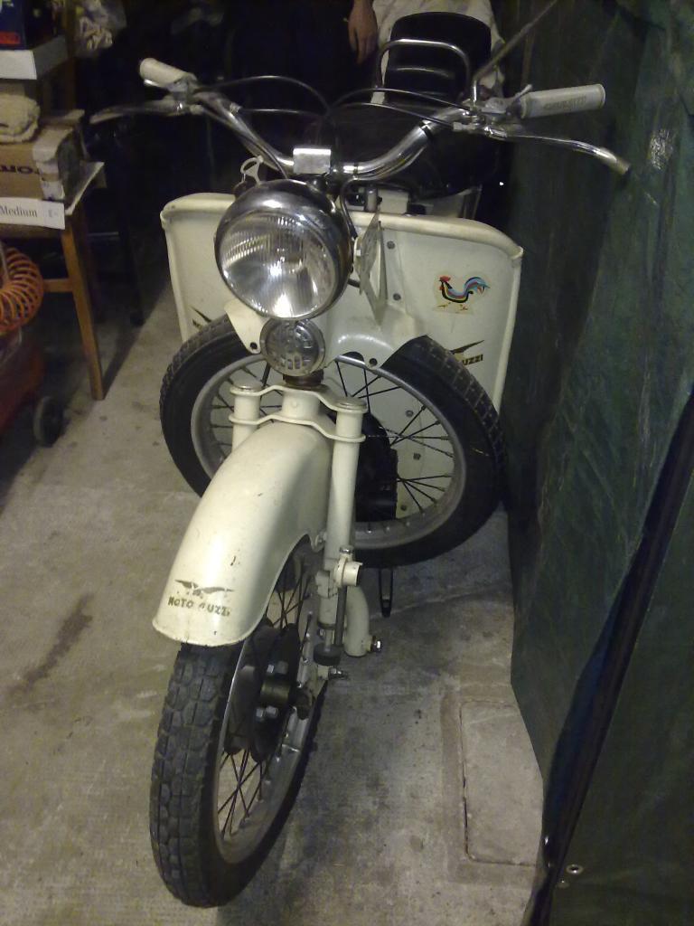 MOTO GUZZI GALLETTO 160cc 3° Serie CONSERVATO del 1952