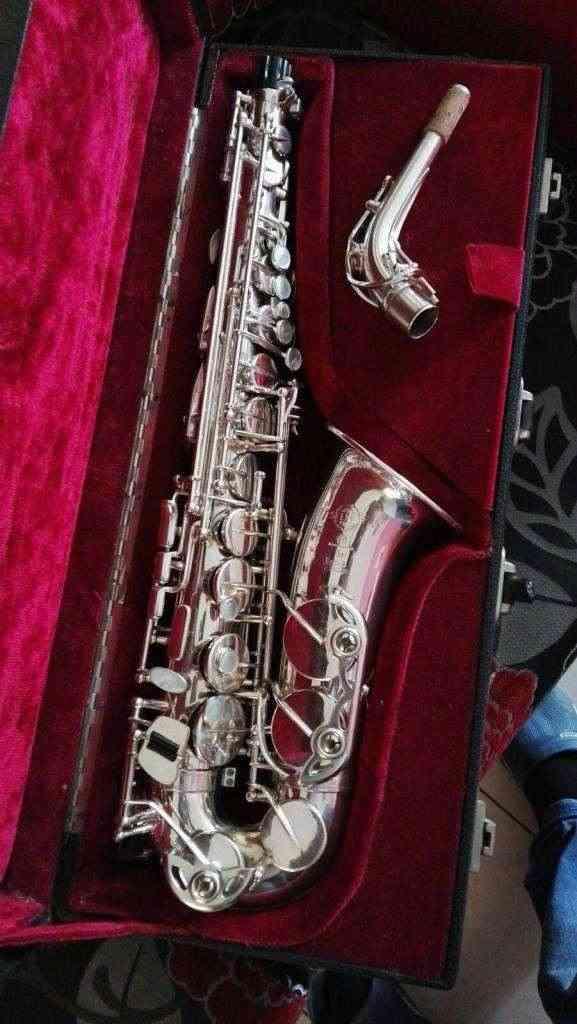 Saxophone alto Selmer super action 80 silver