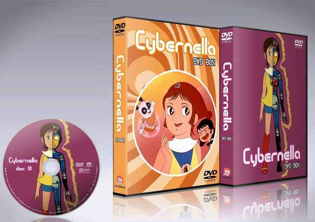 Cybernella serie master completa in dvd