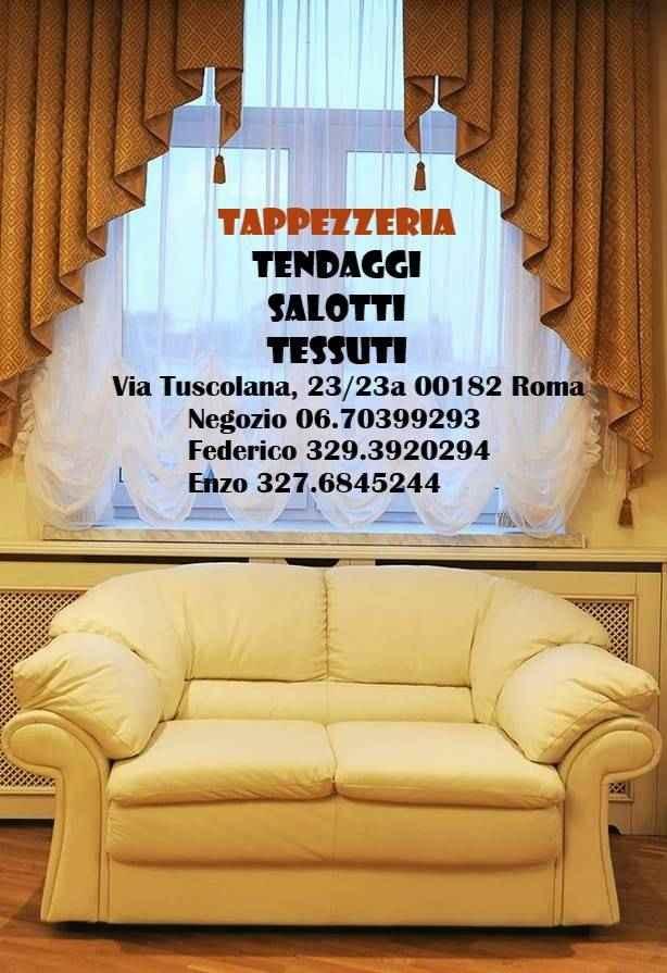 Tappezzeria appia :tendaggi tappezzeria tessuti