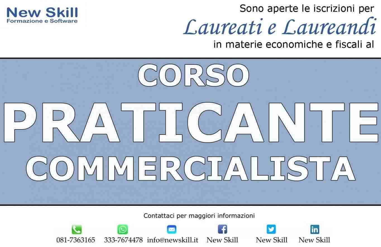 Corso Praticante Commercialista alla New Skill