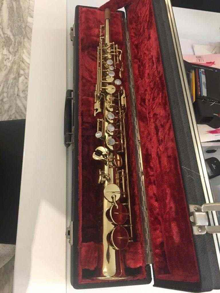 Sax Soprano SELMER MARK VI