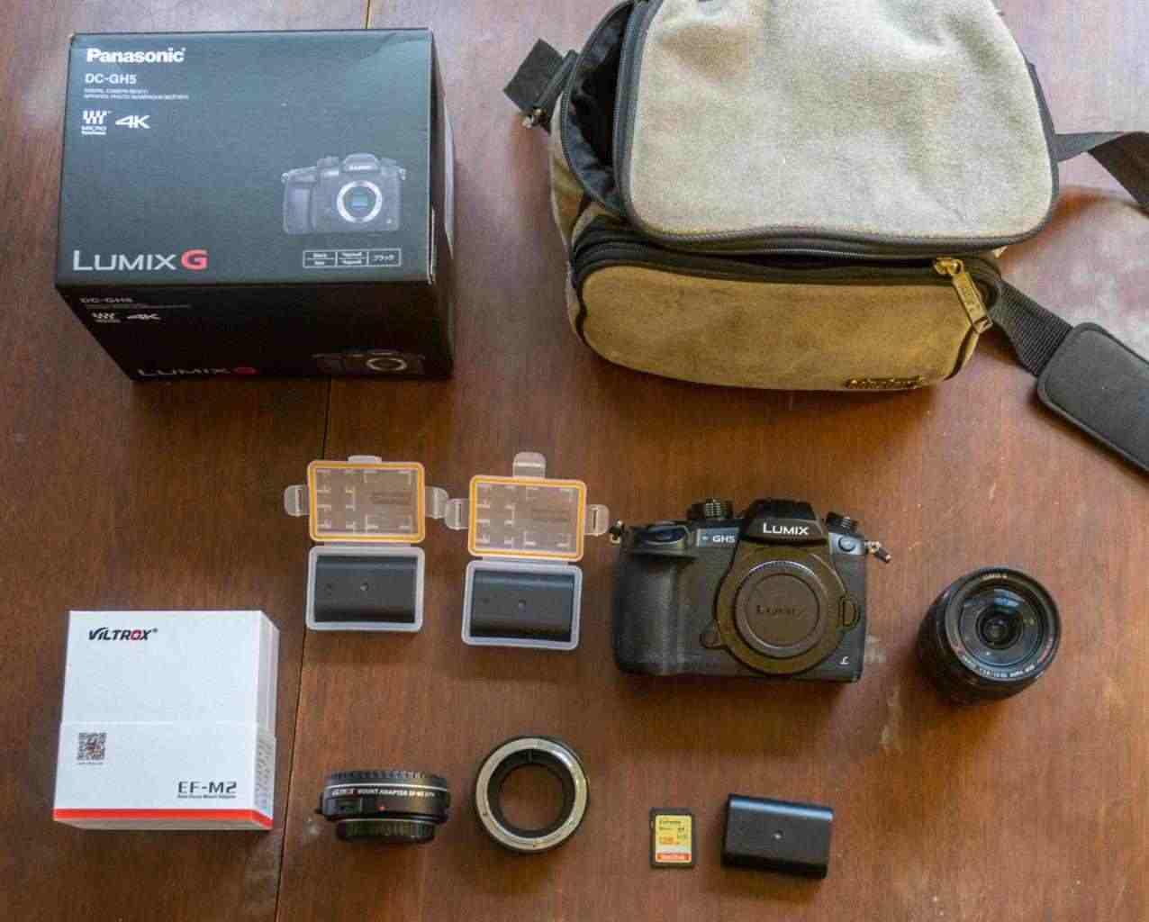 kit LUMIX GH5 Piu 12-35mm 800 €