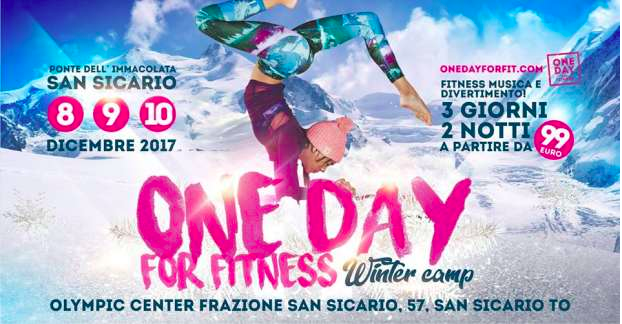 One Day For Fitness Winter Camp
